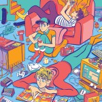 Colourful Lines and Comics by Kris Mukai