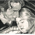 Tender Pencil Illustrations by Chrissy Curtin