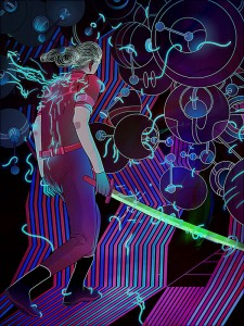 Neon Futurism and Digital Drawing with Francisco Galarraga