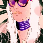 Broad Lines and Bold Patterns in Fashion Illustrations by Eunjong Yoo
