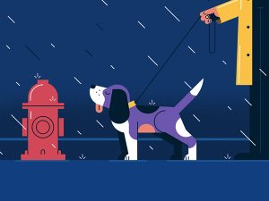Sleek Yet Humorous Illustrations and Animations by Loris F. Alessandria