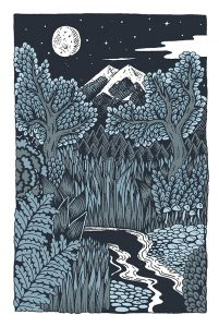 Moonlight and Silent Scenes in New Book by Claire Scully