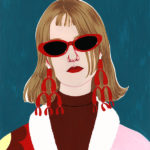 Bold and Decorative Paintings and Fashion Illustrations by Bijou Karman