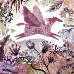 Exuberant Colours in Inky Illustrations by Katie Vernon