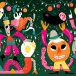 Colourful Playtime in Illustrations by Emmanuel Kerner