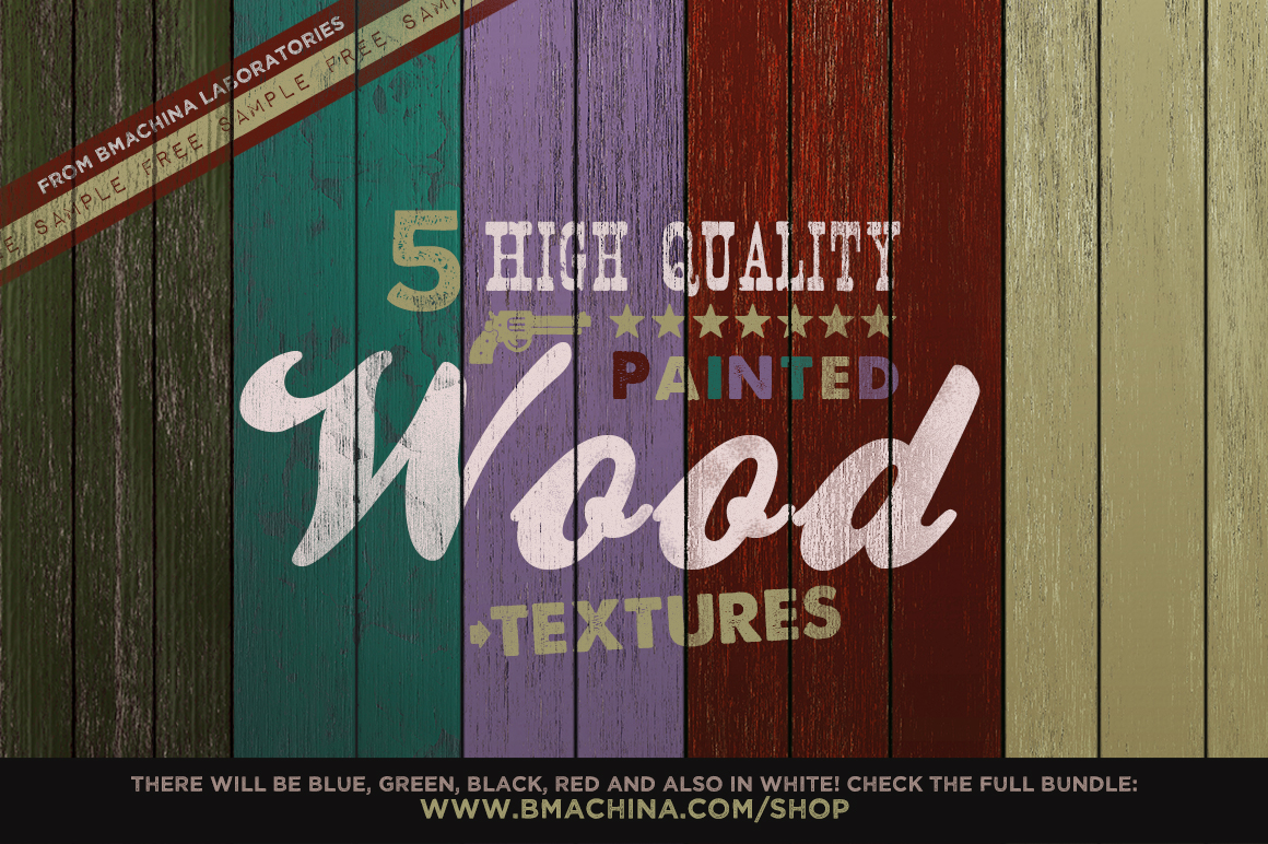 Painted Wood Texture - Light Pack