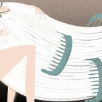 Sharp Angles and Soft Colours in Illustrations by Sara Ciprandi