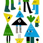 Exuberance and Positivity in Illustrations by Nicole Cmar