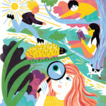 Vibrant Jewel Tones and Balanced Compositions by Kaley McKean