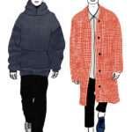 Vivid Fashion Illustrations in Pen by Janelle Burger